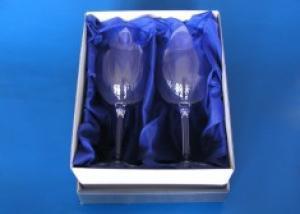 dar k výročí svatby - sklenice s obrázkem - společný dar pro muže a ženu