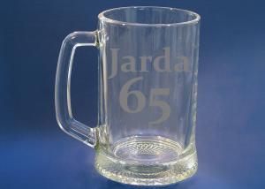 dárek k narozeninám pro tátu - sklenice s 65