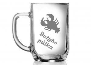 sklenice na pivo se jménem - dárek pro kolegu