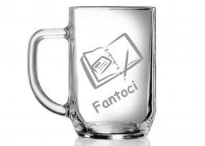 vtipné dárky pro šéfa - sklenice s přezdívkou