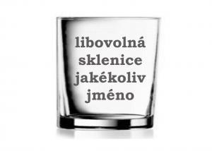 skleničky se jménem