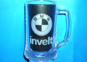 broušené firemní sklenice s logem - dárek pro obchodní partnery