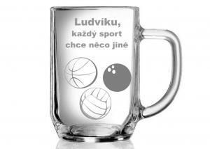 vtipný dar pro sportovce