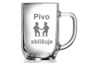 Tip na dar pro manželku - sklenice se znamením blíženců - dárek manželovi k výročí