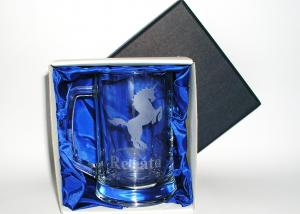 sklenice - dárky s motivem koně