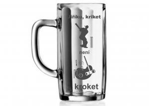 Vtipný dárek s obrázkem na přání - hláška na sklenice